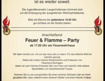 Feuer und Flamme Party 2019