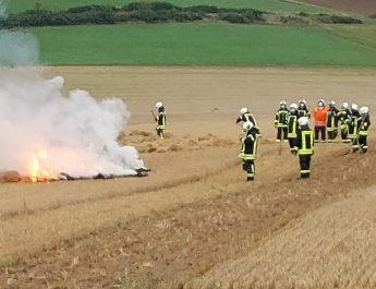 Ausbildungsdienst Vegetationsbrandbekämpfung